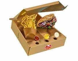 mediassaz tarafından Doner Kebab Box Packaging Designs için no 13