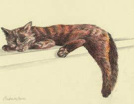 Nro 9 kilpailuun Draw/paint my cat käyttäjältä barbarabacci