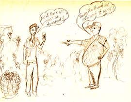 djamalidin tarafından Vineyard manager and winemaker cartoon için no 1