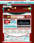 Bài tham dự #73 về Graphic Design cho cuộc thi Website Design for Qatar IT