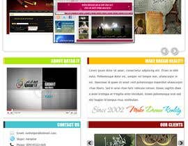 nº 44 pour Website Design for Qatar IT par souqar