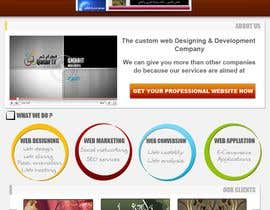 nº 45 pour Website Design for Qatar IT par souqar