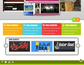 nº 75 pour Website Design for Qatar IT par souqar