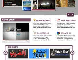 nº 76 pour Website Design for Qatar IT par souqar