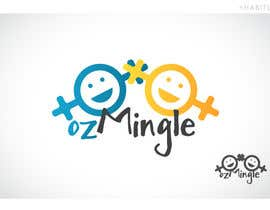 #43 for Logo Design for ozMingle by Habitus