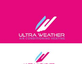 #18 untuk I need a modern amazing logo for Air Conditioning company.   Company name:  Ultra Weather  Air Conditioning & Heating  Please only professional, unique logos.  Thank you. oleh rifatsikder333