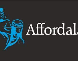#5 para I need a logo for my lawyer referral site called: affordalaw. Its related to getting affordable legal servies. Thank you. por Guitaadrian
