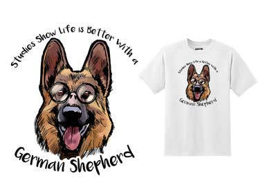 Image of                             Design a German Shepherd T-Shirt