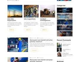 Nro 7 kilpailuun Build me a wordpress website with blogging and ecommerce functionality for elearning sales. käyttäjältä saidesigner87