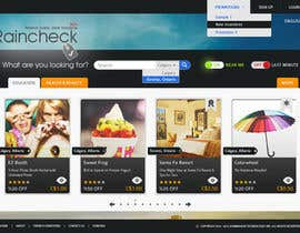 #48 untuk Website Design for Raincheck oleh halfadrenalin