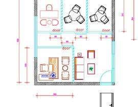 Nro 63 kilpailuun 3D Office Interior and Visualization käyttäjältä AleksandarPers