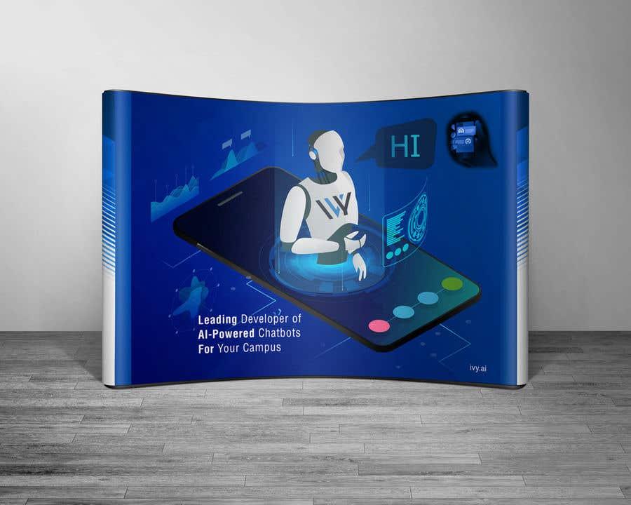 Kilpailutyö #4 kilpailussa Graphic Design for a Trade Show Booth -- 2018
