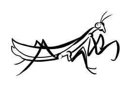 #3 cho Praying Mantis Illustration bởi edgreen12