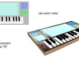 #3 untuk Design Concept for a Synthesizer (2 illustrations) oleh sonnybautista143