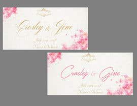#14 for Wedding Save they date card design by hanna97