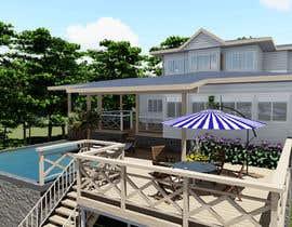 #17 for house plan 3d rendering af creatiVerksted