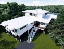 #20 for house plan 3d rendering af milonsk