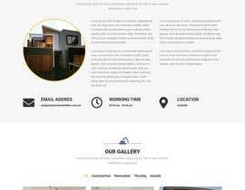 #53 for Design a website for a Builder/Carpenter af Meetrajsinh