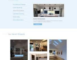 #50 for Design a website for a Builder/Carpenter af codecorneres