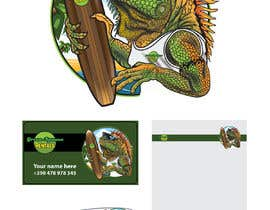 #133 для Green Iguana Logo for a land and water sports equipment rental business від balanslava