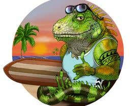 #161 для Green Iguana Logo for a land and water sports equipment rental business від elinavarro