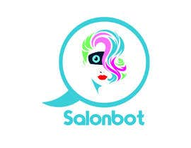 #44 untuk Design logo for a high-tech chatbot tailored for hair and beauty salons oleh yousufhusain434