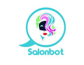 #57 untuk Design logo for a high-tech chatbot tailored for hair and beauty salons oleh yousufhusain434