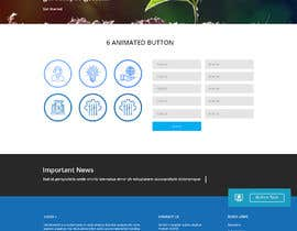 #11 for Design responsive website landing page, following and existing design by pradeep9266