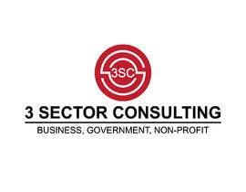 """Nro 37 kilpailuun The business name is """"3 Sector Consulting."""" käyttäjältä Hasibulit"""