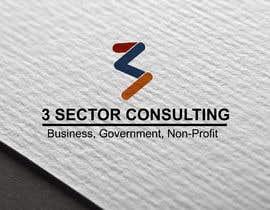 """Nro 6 kilpailuun The business name is """"3 Sector Consulting."""" käyttäjältä Abhiroy470"""
