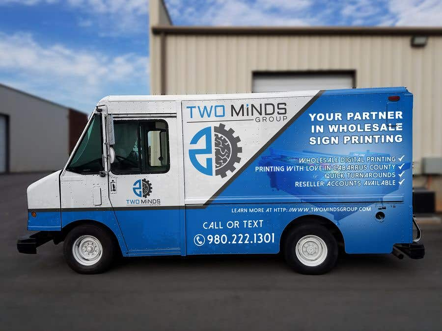 Entry 29 By Jbktouch For Design Van Vehicle Wrap For Awesome