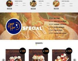 nº 8 pour Design a Website Mockup for Mexican Restaurant par satishandsurabhi