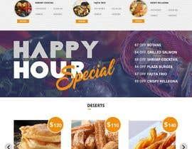 nº 11 pour Design a Website Mockup for Mexican Restaurant par satishandsurabhi