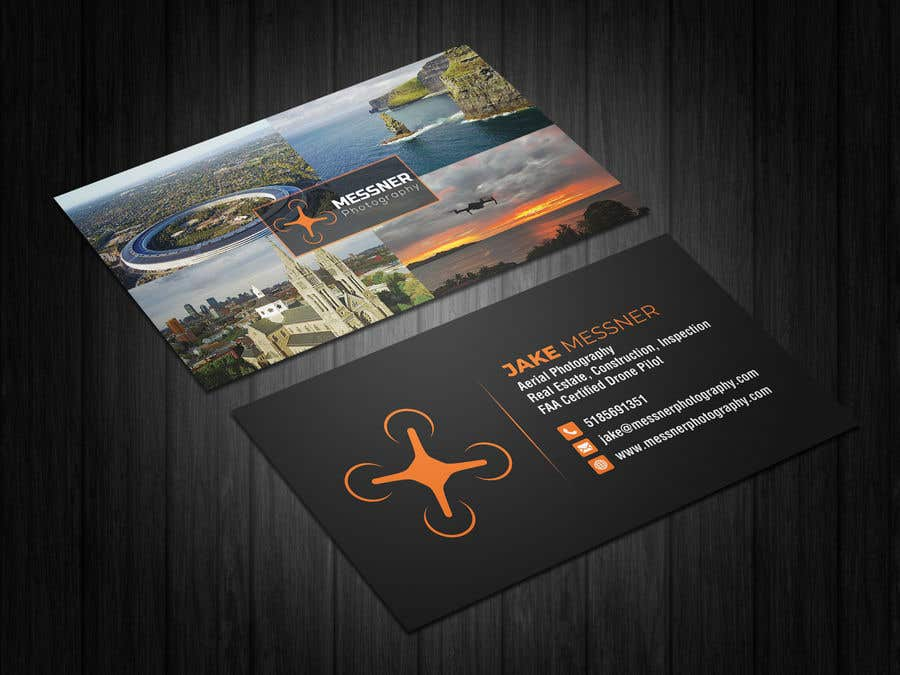 Entry 269 by iqbalsujan500 for aerial photography business card contest entry 269 for aerial photography business card design reheart Images