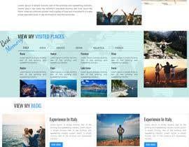 #17 for Design a travel consultant personal website af ruchi2019