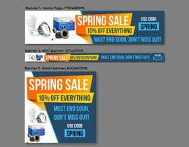 #39 para Design 3 x Banners - For Spring Sale de Dedijobs