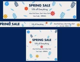 #40 para Design 3 x Banners - For Spring Sale de sherazi2592