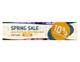 #1 para Design 3 x Banners - For Spring Sale de dmned
