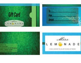 #21 untuk E - Gift Card  + printable version with envelope oleh robinchowdhury90