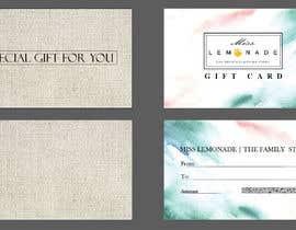 #4 cho E - Gift Card  + printable version with envelope bởi rybak21