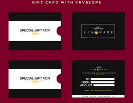 #11 cho E - Gift Card  + printable version with envelope bởi anzalakhan