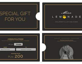 #10 cho E - Gift Card  + printable version with envelope bởi jramos