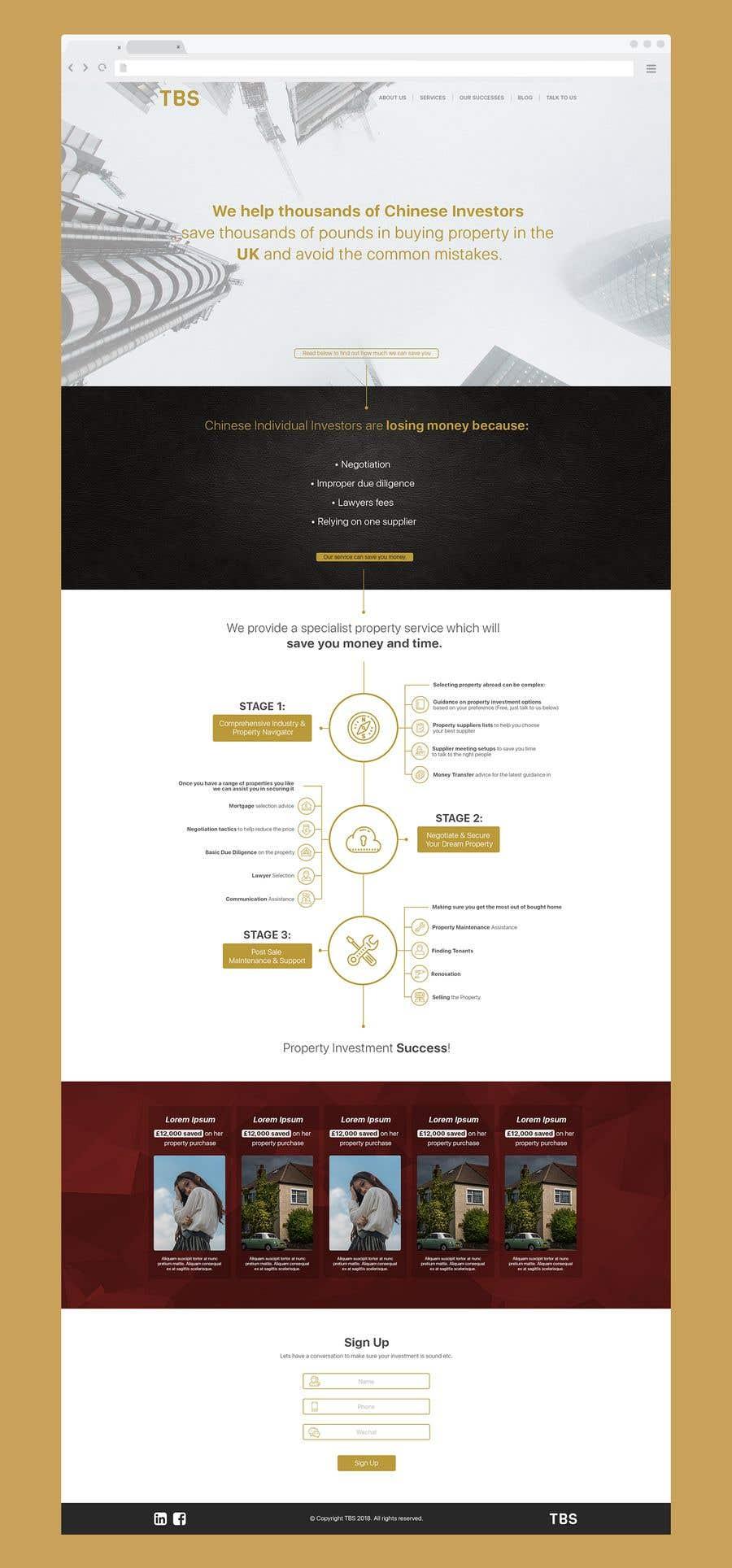 Penyertaan Peraduan #37 untuk Design a New Website Mockup (Just Design, No Code)!