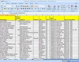 muzammil21 tarafından Fill in a Spreadsheet with Data for Azuru için no 4