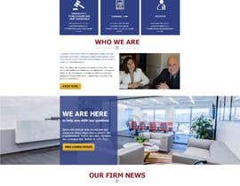 liemdesigner tarafından Home page layout concept for law firm için no 5