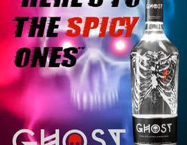 #20 for Bring Ghost Tequila to life in a hypothetical poster by rajchoudhary265