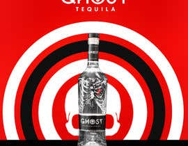 #9 for Bring Ghost Tequila to life in a hypothetical poster by ichddesigns