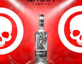 #10 for Bring Ghost Tequila to life in a hypothetical poster by ichddesigns