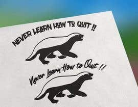 "#6 for Honey Badger and the phrase ""Never Learn How to Quit"" av zwarriorxluvs269"