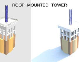 #2 for Architecture Design of a Roof Mounted Tower by sonnybautista143